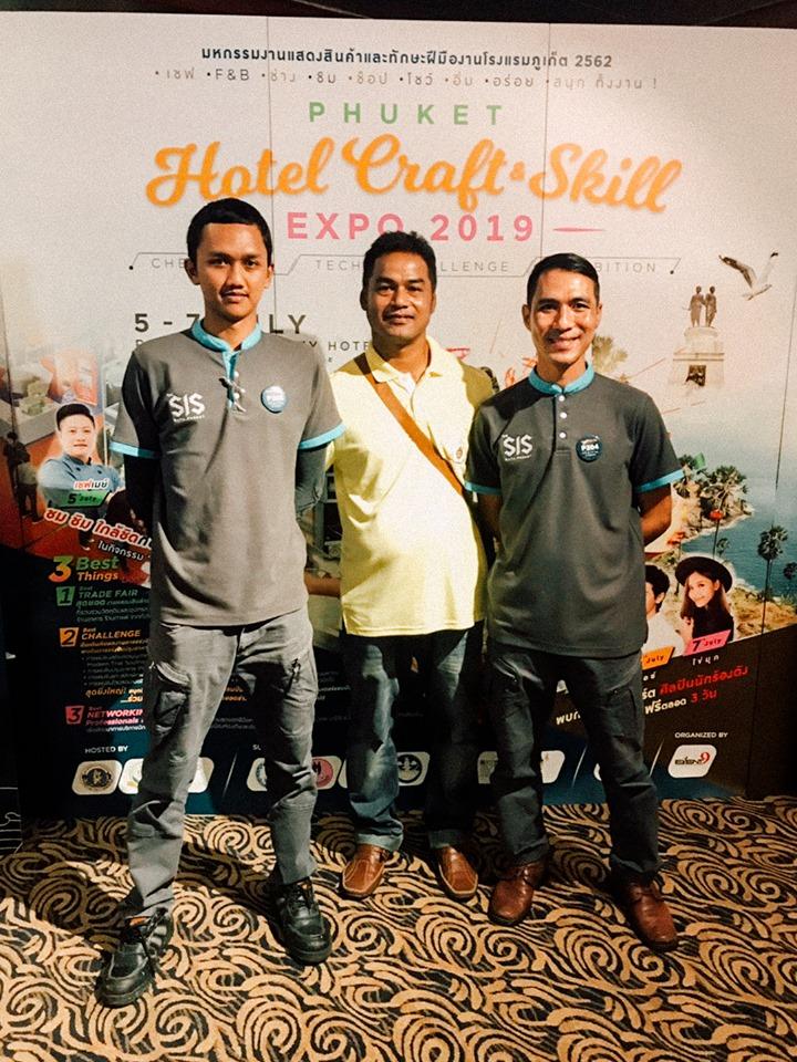 ช่างปรับอากาศ โรงเเรม เดอะซิส กะตะ รีสอร์ท ได้รับรางวัลรองชนะเลิศอันดับ 1 จาก Phuket Hotel Craft & Skill Expo 2019
