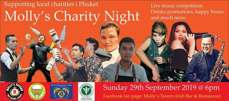 Molly's charity night