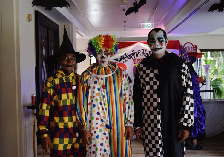 เฉลิมฉลองเทศกาลวันฮาโลวีน ทริกออร์ทรีต ปาร์ตี้เขย่าขวัญ คืนวันปล่อยผี ณ โรงแรม เจดับเบิ้ลยู แมริออท ภูเก็ต รีสอร์ท แอนด์ สปา