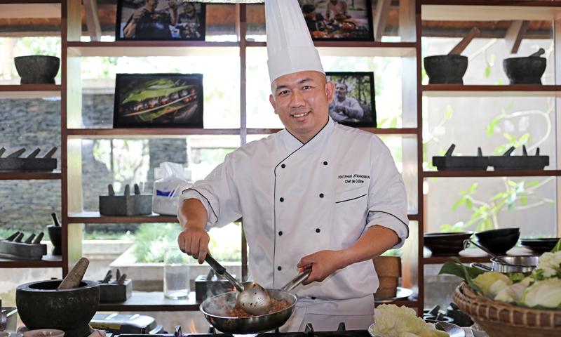 ลำแต้ ลำขนาด! โปรโมชั่นเมนูอาหารเหนือล้านนา  ณ ห้องอาหาร กินจ้า เทส