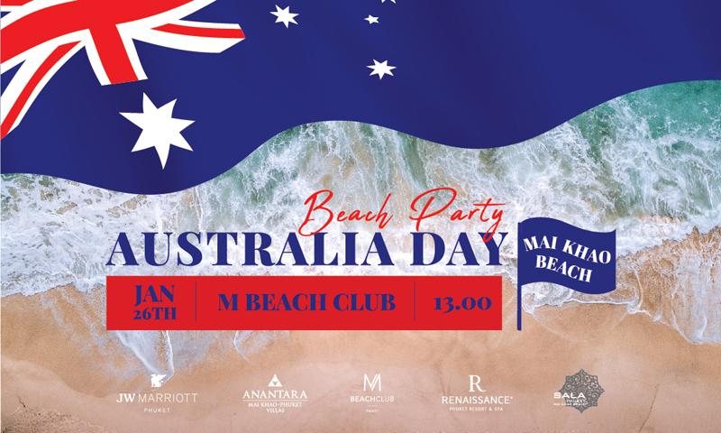 โรงแรมชั้นนำบริเวณหาดไม้ขาว ร่วมกันจัดงานเทศกาลงานวันชาติออสเตรเลีย