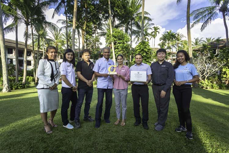โรงแรม เจดับเบิ้ลยู แมริออท ภูเก็ต รีสอร์ท แอนด์ สปา คว้า รางวัลโรงแรมที่เป็นมิตรกับสิ่งแวดล้อม ปี 2562 ระดับทอง ดีเยี่ยม จาก Green Hotel Award การรับรองมาตรฐานจากกรมส่งเสริมคุณภาพสิ่งแวดล้อม กระทรวงทรัพยากรธรรมชาติและสิ่งแวดล้อม จัดโดยสำนักงานส่งเสริมการจัดประชุมและนิทรรศการ (องค์กรมหาชน)
