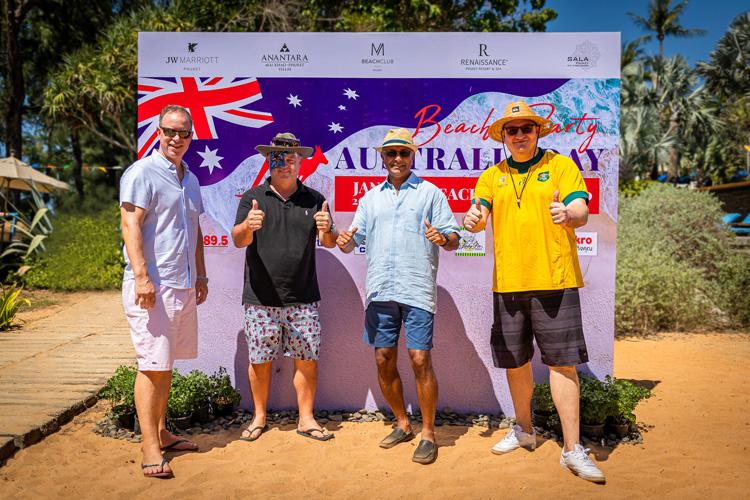 กลุ่มโรงแรมชั้นนำหาดไม้ขาว จัดงานเฉลิมฉลองเทศกาลวันชาติออสเตรเลีย ในวันอาทิตย์ที่ 26 มกราคม 2563 ณ M Beach Club