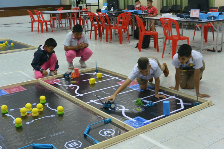 ศูนย์ CIC จัด CIC mBot Challenge เตรียมความพร้อมสู่สนามระดับประเทศ