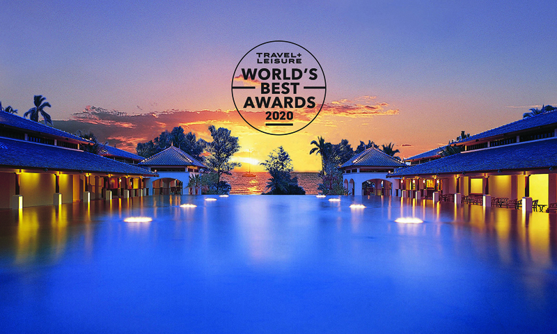 เจดับบลิว แมริออท ภูเก็ต คว้ารางวัล 1 ใน 10 อันดับโรงแรมรีสอร์ทที่ดีที่สุดในเอเชียตะวันออกเฉียงใต้